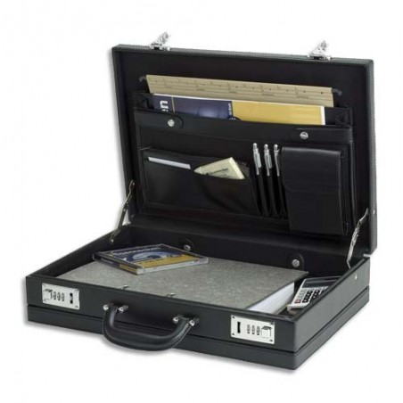 JSC ATTACHE CASE PVC NOIR 92300