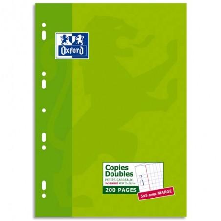 OXF E/200 CDOUB A4 5X5 PERFO 100105678