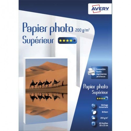 AVE B/60 PAP PHO BRIL 10X15 200 C2549-60