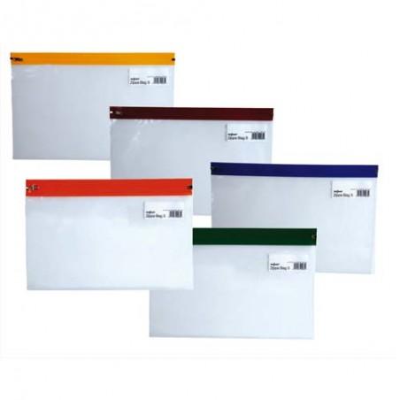 SPK S/5 POCHET ZIPPA BAGS A5 ASS PA12722