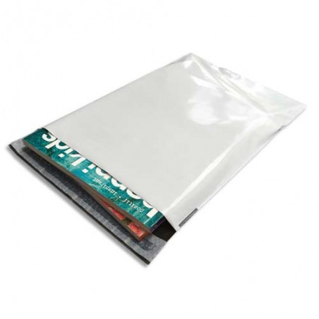 BNG B/100 POCHET PLAST 24X32.5 BLC 68290