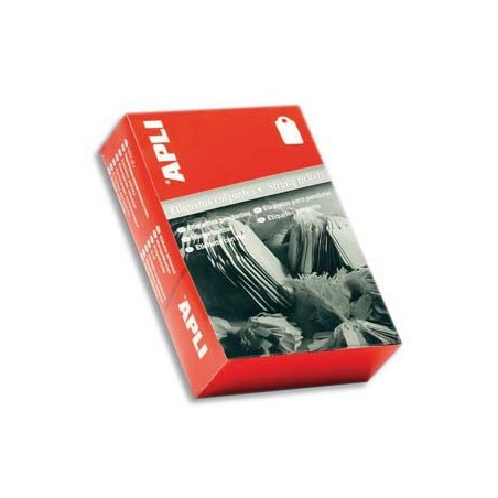 AGI B/1000 ETIQ BIJOUTERIE 15X24MM 388