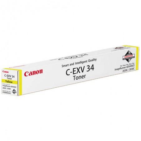 CNO CART ENCRE JAUNE C-EXV34 3785B002AA