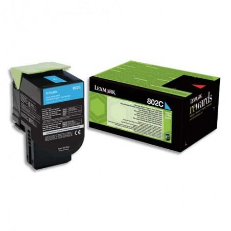 LXM CART TONER CYAN 802C 80C20C0