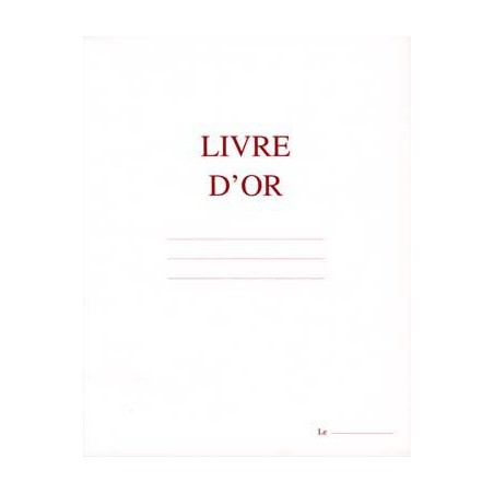 ELV LIVRE D OR 210X160MM 148P BLANC 5300