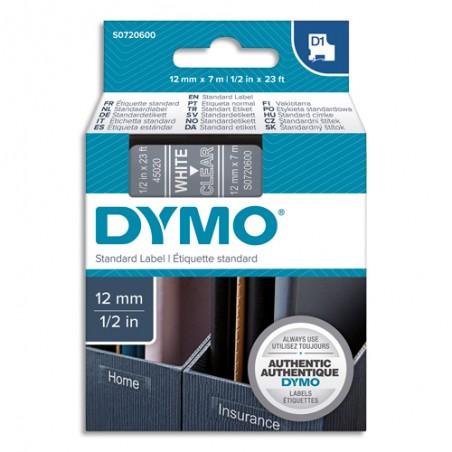 DYM RUB D1 POLY 12MMX7M BLC/TRS S0720600