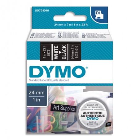 DYM RUB D1 24MMX7M BLC/NOIR S0721010