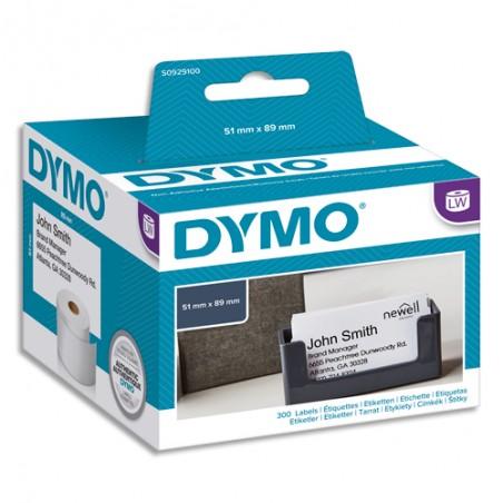 DYM ETIQ CARTE VISITE 51X89MM S0929100