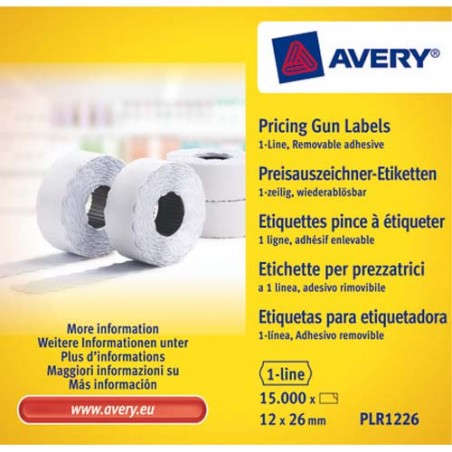 AVE B/10 RLX 1500 ETIQ BLC 26X12 PLR1226
