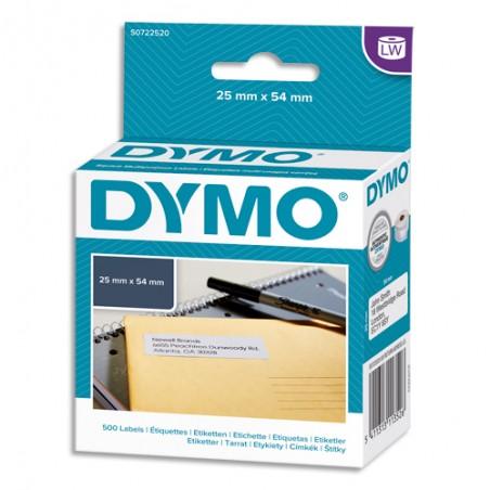 DYM RL ETIQ 25X54MM ADRESSE S0722520