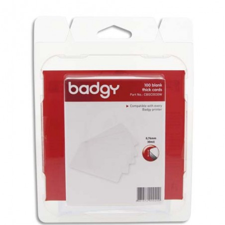 EVO B/100 CART PVC EPAISS 0.76 CBGC0030W