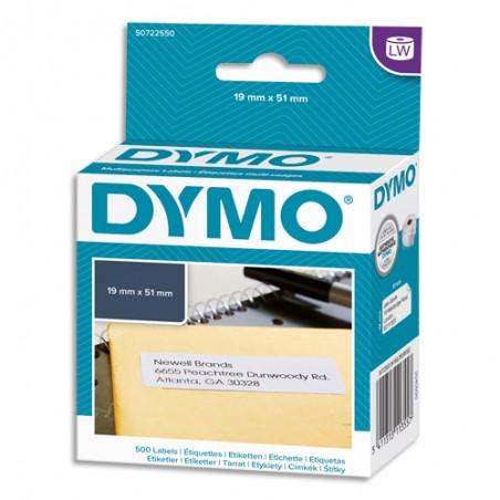DYM ETIQ MULTIUSAGE 19X51MM S0722550