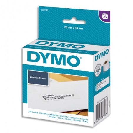 DYM BTE/130 ETIQ LW ADRS 89X28MM 1983173