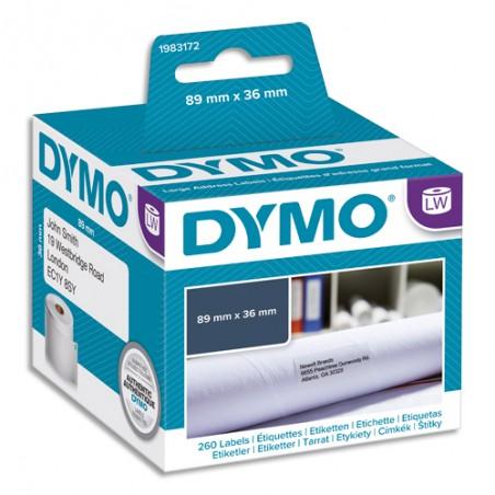 DYM BTE/260 ETIQ LW ADRS 89X36MM 1983172