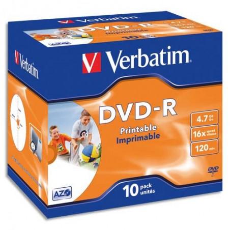 VET T/50 DVD-R 16X 4.7GO 120MIN 43548+R