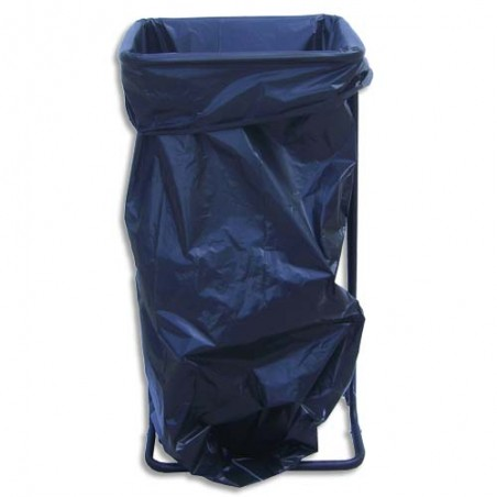 VIS SUPPORT SAC POUBELLE MAX130L N SS800