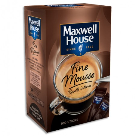 MXH B/100 STICKS CAFE MAXWELL 4032215