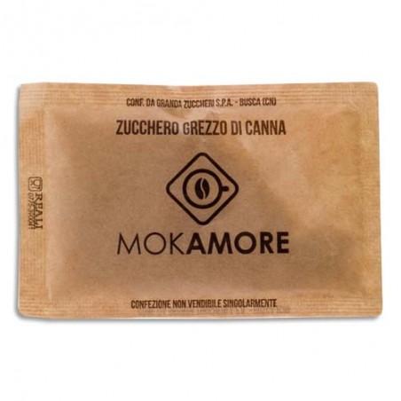 MOKA B/54 SACHETS SUCRE DE CANNE 02931