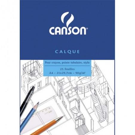 CAN BLOC/25F CALQUE 90G A4 C200757203