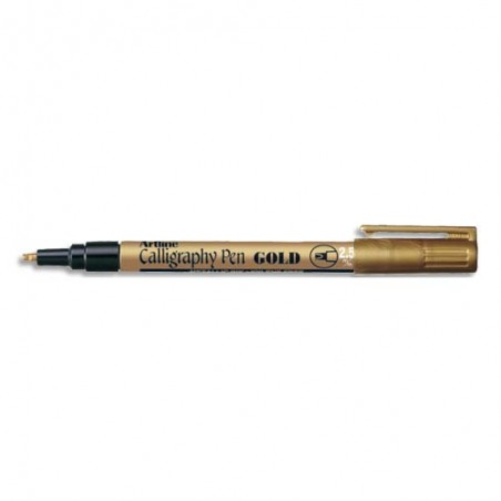 SIG STYLO CALLIGRAPHIE 2.5MM OR 05352OR
