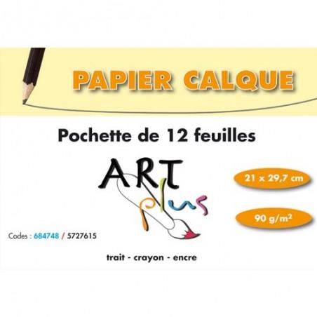 ARP P/12F PAP CALQUE 90G A4 684748SPICEC