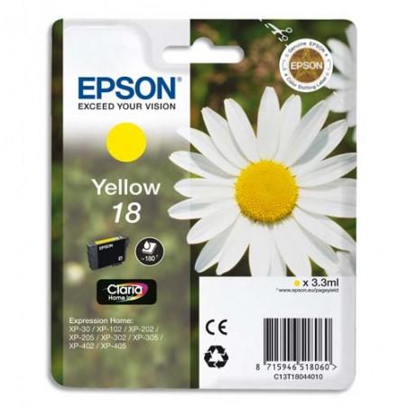 EPS CART JET ENCRE JAUNE C13T18044012/10