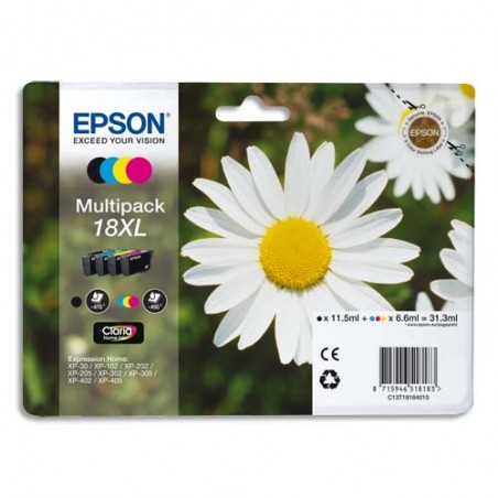 EPS MULTIPACK XL 4 COUL C13T18164012/10