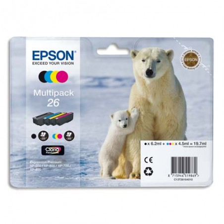 EPS MULTIPACK 4 COUL C13T26164010