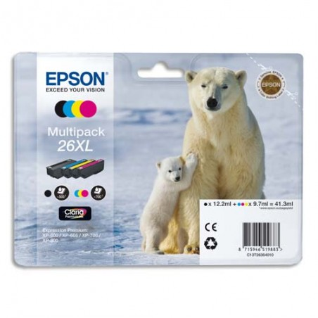 EPS MULTIPACK XL 4 COUL C13T26364010