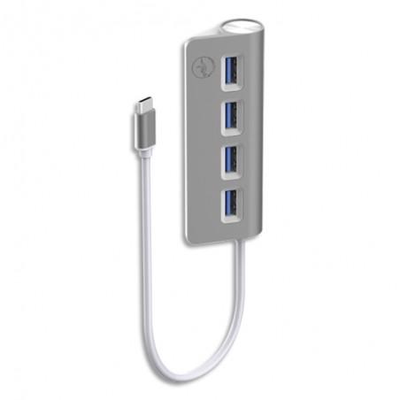 MBY HUB CYL 4 POR USB-C GR SID ML311821