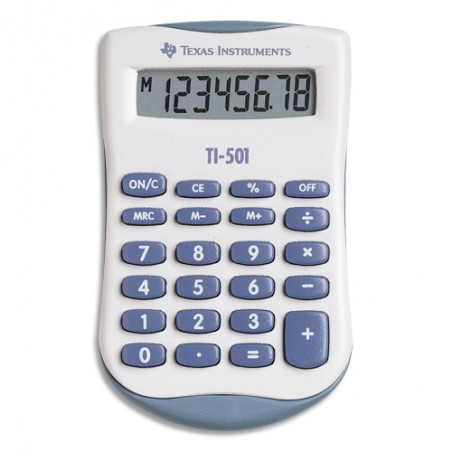 TEX CALCULATRICE POCHE TI-501