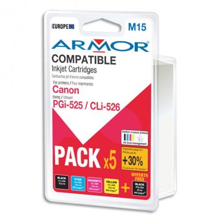 ARM LOT PGI-525/CLI-526 BCMY B10177R1