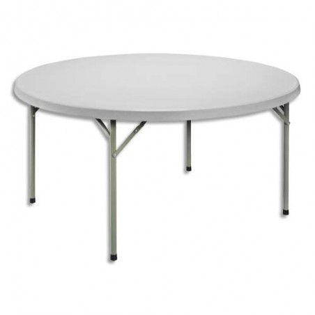 STB TABLE RD PLIANT PE L140 GCL ROND-152