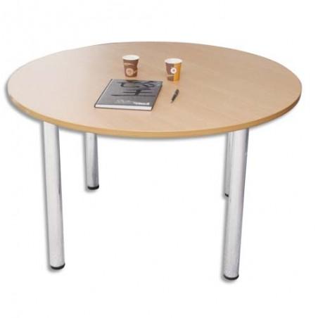 STB TABLE RONDE DIAM 120CM HET TABLE 120