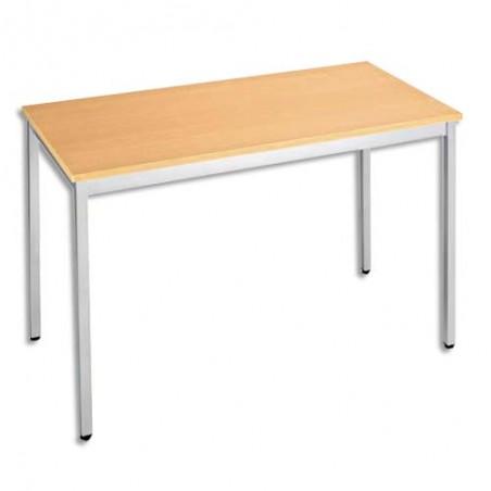 STB TABL UNIVERSEL 160X80 HE/ALU T168RHA