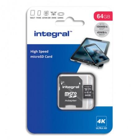 ITG MICSDXC+AD 64G V30 INMSDX64G-100V30