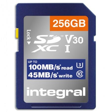 ITG CARTE SDXC 256GO 4K INSDX256G-100V30