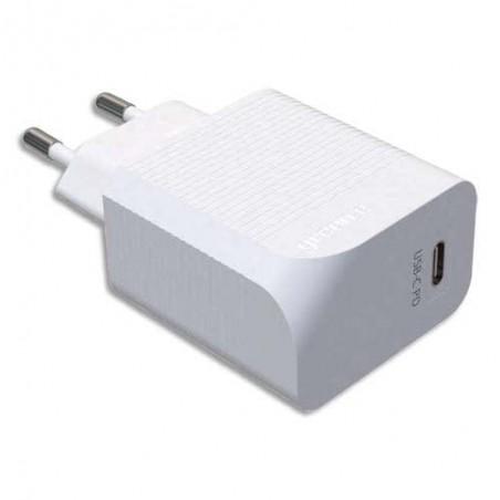 GREEN PRISE SECTEUR USB-C 18W BLC GR6015