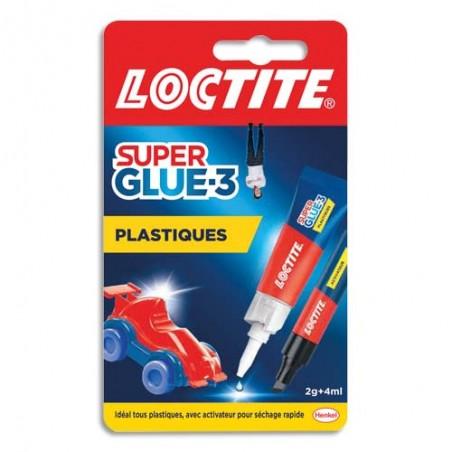 LCT SUPERGLUE-3 SPE PLASTIQUE 2608889