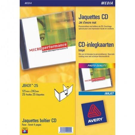 AVE B/50 ETIQ LAS COUL CD/DVD L7760 25