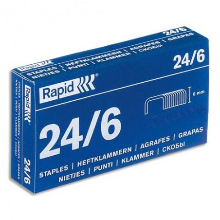 RAP B/5000 AGRAFES 24/6 24859800