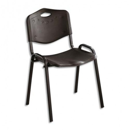 SIE CHAISE ISO PLAST PP NOIRE 60214