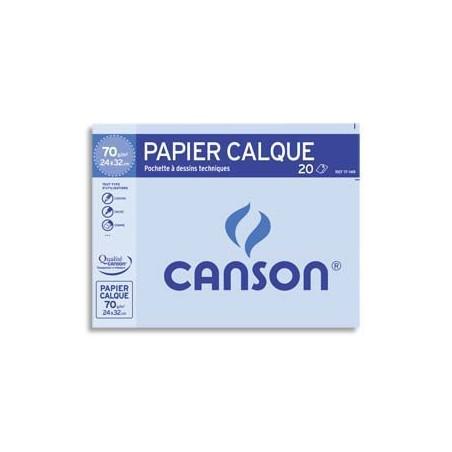 CAN P/12 FEUIL CALQ 90G A4 C200017154