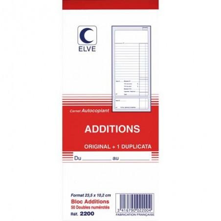 ELV BLOC ADDITION 102X235 50/2 ATCP 2200