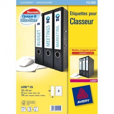 AVE B/100 ETI DOS CLASLEV192X61 L4761-25