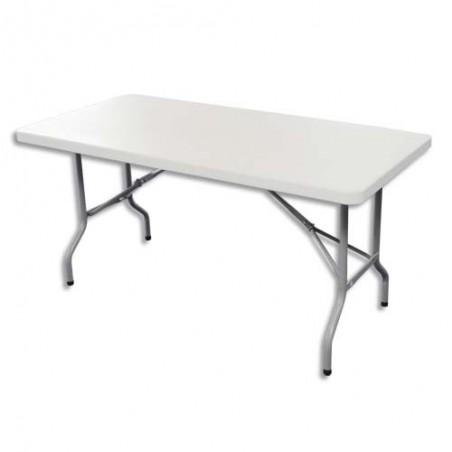 STB TABLE PLIANTE PE L122 BLC YCZ-122