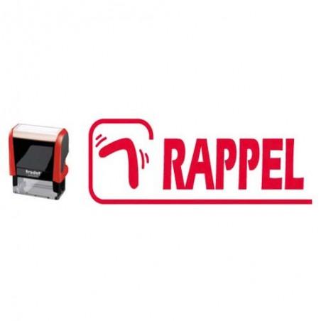 TRO TIMB FORM RAPPEL RGE XPRINT -43514