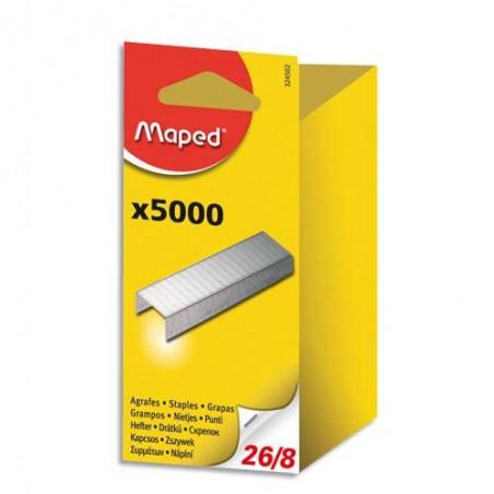 MAE B/5000 AGRAFES 26/8 BLISTER 324502