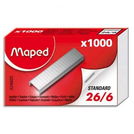 MAE B/1000 AGRAFES 26/6 324605