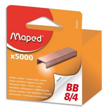 MAE B/5000 AGRAFES 8/4 BLISTER 325202